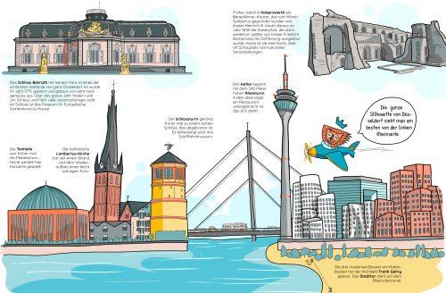 Unser Düsseldorf, Innenseiten