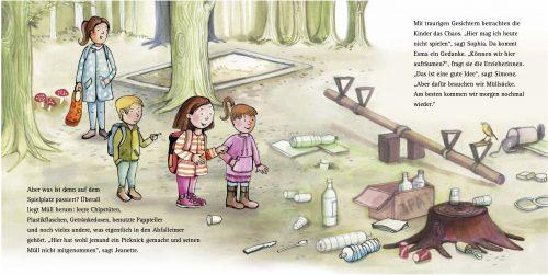 Sophia & Paul - Zu viel Müll, Innenseiten