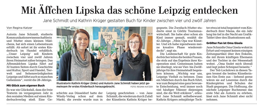 LVZ Interview mit Jane Schmidt und Kathrin Krüger