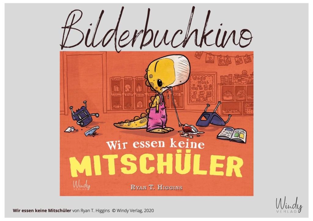 Der Windy Verlag bietet Bilderbuchkinos an