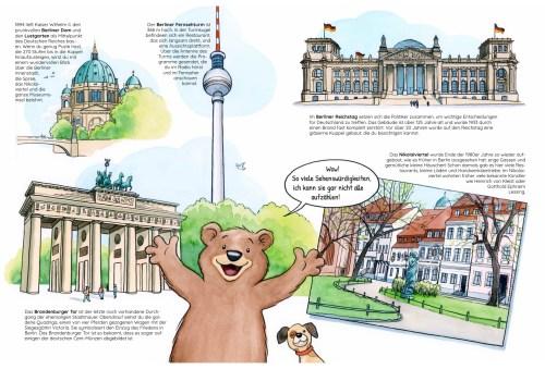 Unser Berlin, Innenseiten
